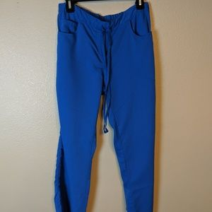 Grey Anatomy blue scrub pants